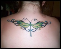 dragonfly tatto picture